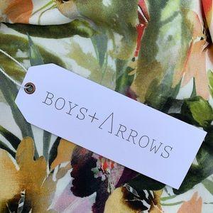 Boys + Arrows Shorts - New BOYS + ARROWS Tropical Floral Shorts Romper